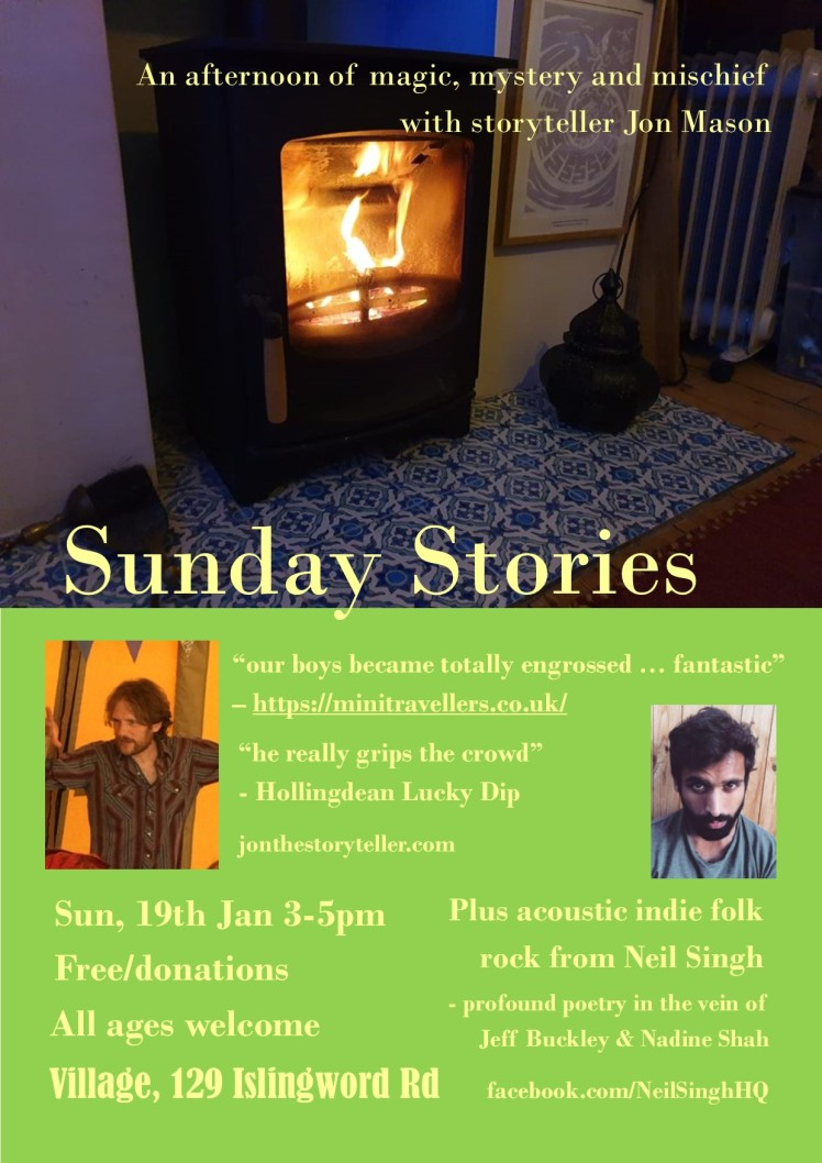 JM Sunday Stories Jan poster