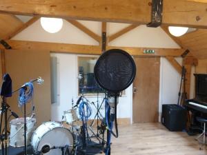 The main room at Brighton Road Recording Studios.